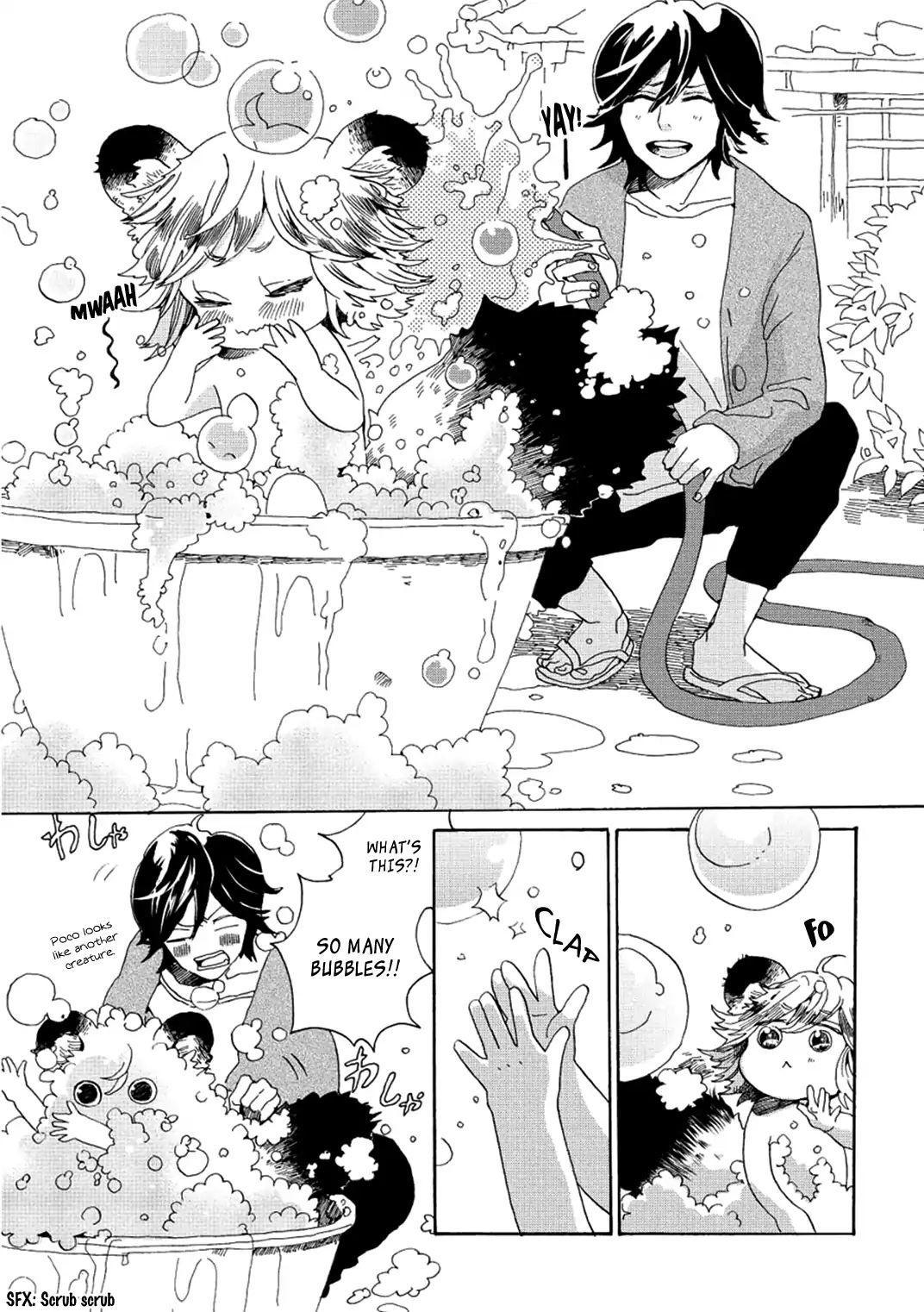Udon No Kuni No Kin'iro Kemari Vol.1 Chapter 3: Kotoden page 8 - Mangakakalots.com