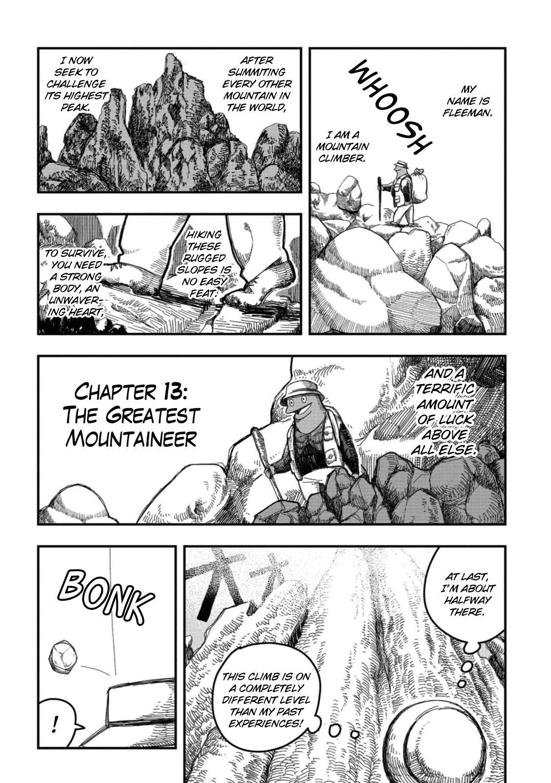 Rojica To Rakkasei Chapter 13: The Greatest Mountaineer page 1 - Mangakakalots.com