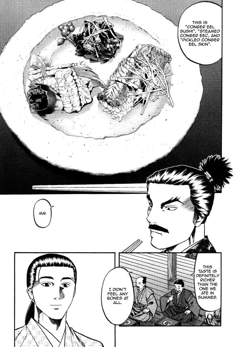 Nobunaga No Chef Chapter 103: The Conger Eel Of Midwinter page 10 - Mangakakalots.com