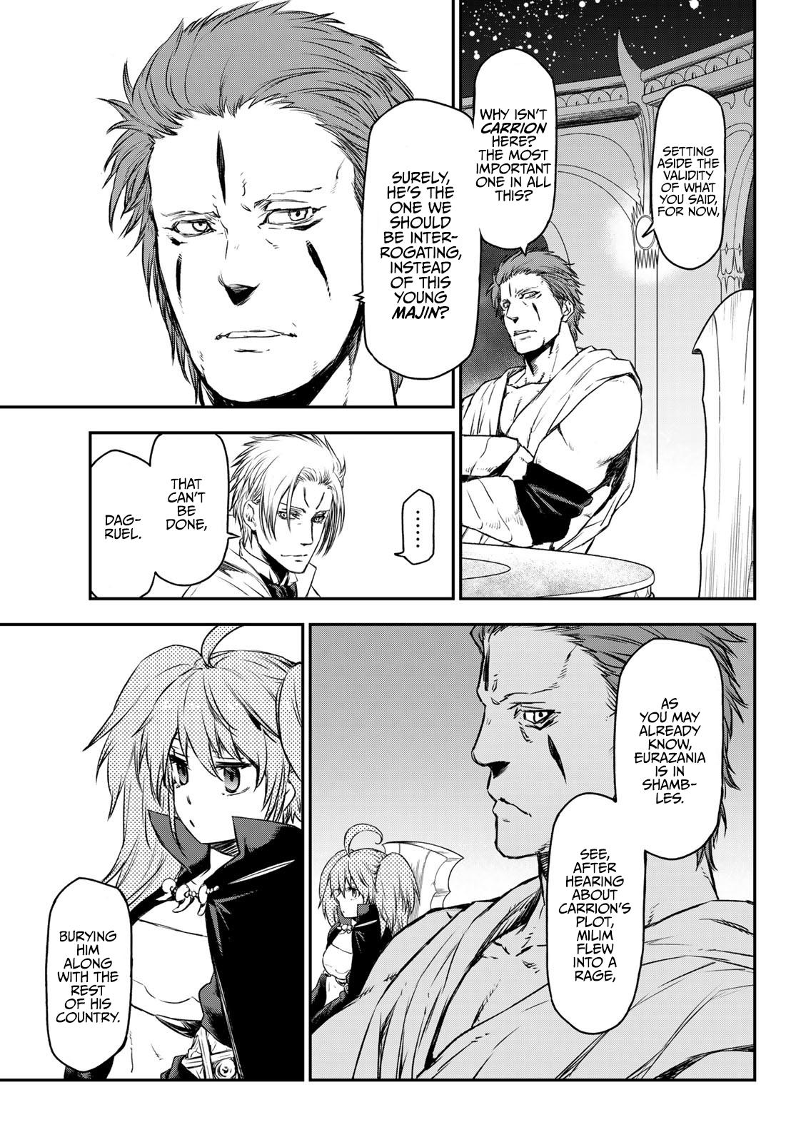 Tensei Shitara Slime Datta Ken Chapter 81: The Wight King page 17 - Mangakakalots.com