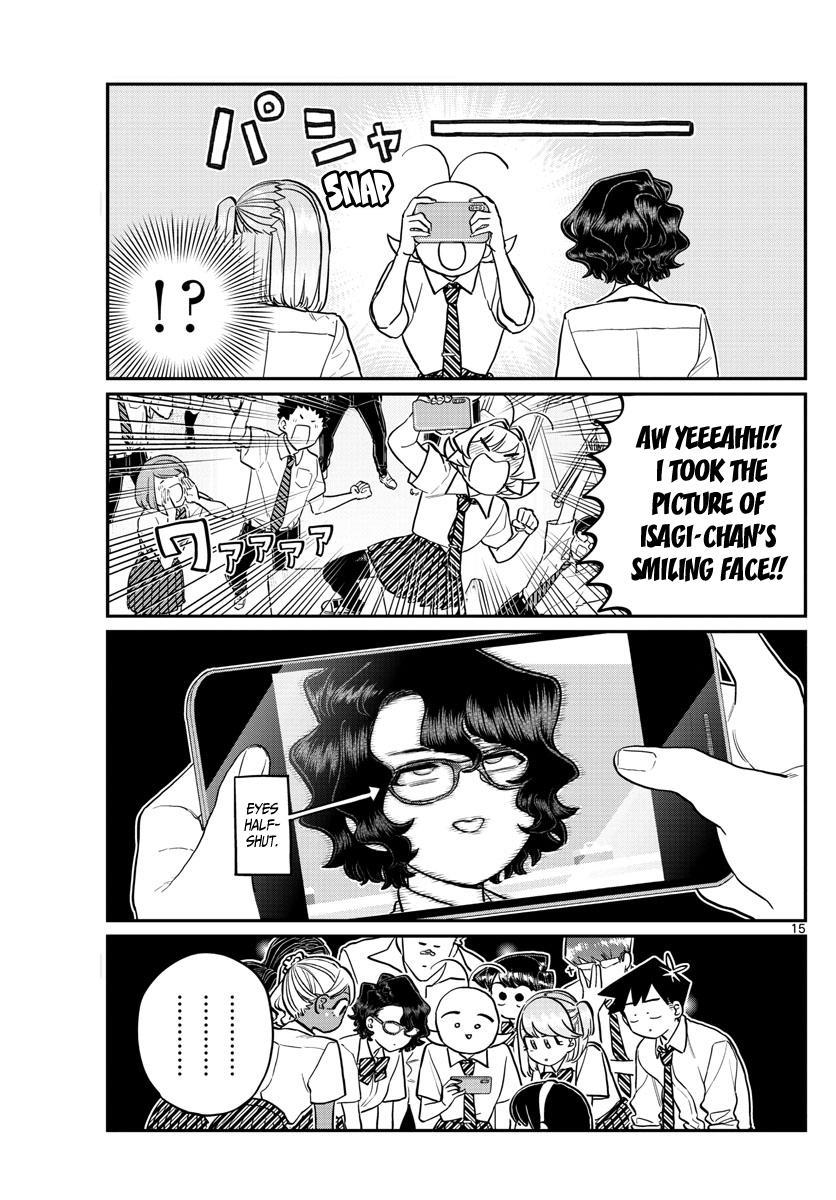Komi-San Wa Komyushou Desu Chapter 201: Smile page 16 - Mangakakalot