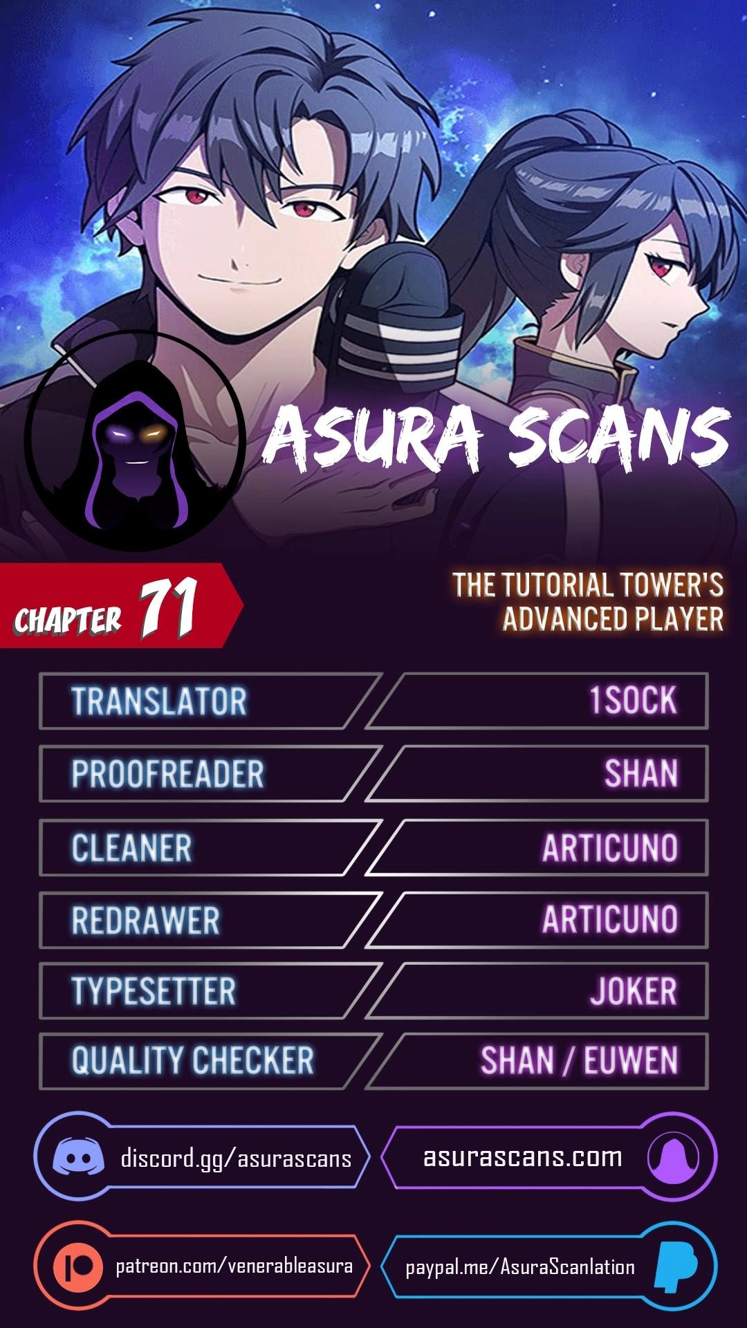 The Tutorial Tower's Advanced Player Chapter 71 page 1 - Mangakakalots.com