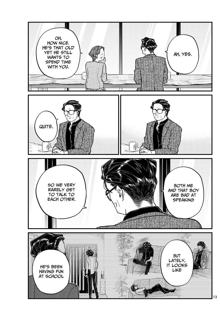 Komi-San Wa Komyushou Desu Chapter 215: A Day Of A Father And Son page 13 - Mangakakalot