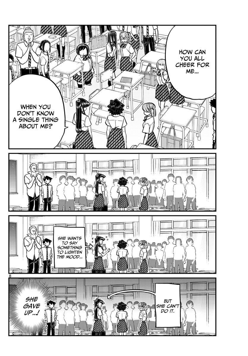 Komi-San Wa Komyushou Desu Chapter 199: Hit And Cover Rock Paper Scissors page 8 - Mangakakalot