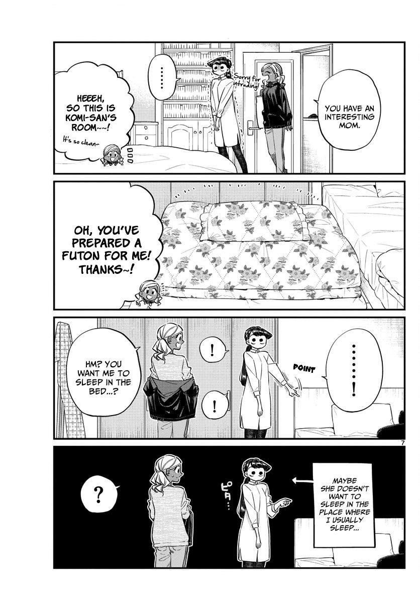 Komi-San Wa Komyushou Desu Vol.10 Chapter 142: A Sleep Over page 7 - Mangakakalot