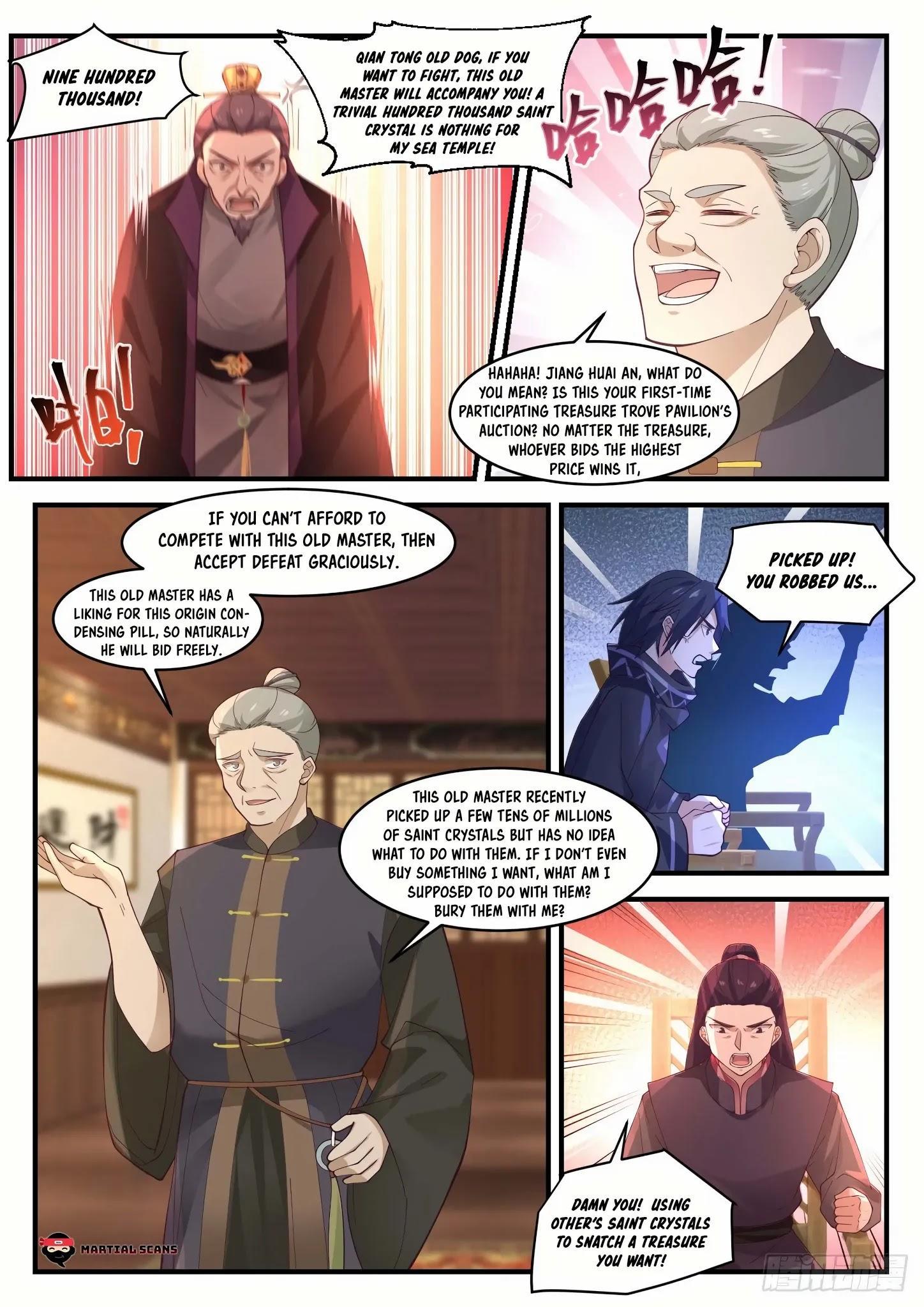 Martial Peak Chapter 1055: Filthy Rich page 6 - Mangakakalots.com