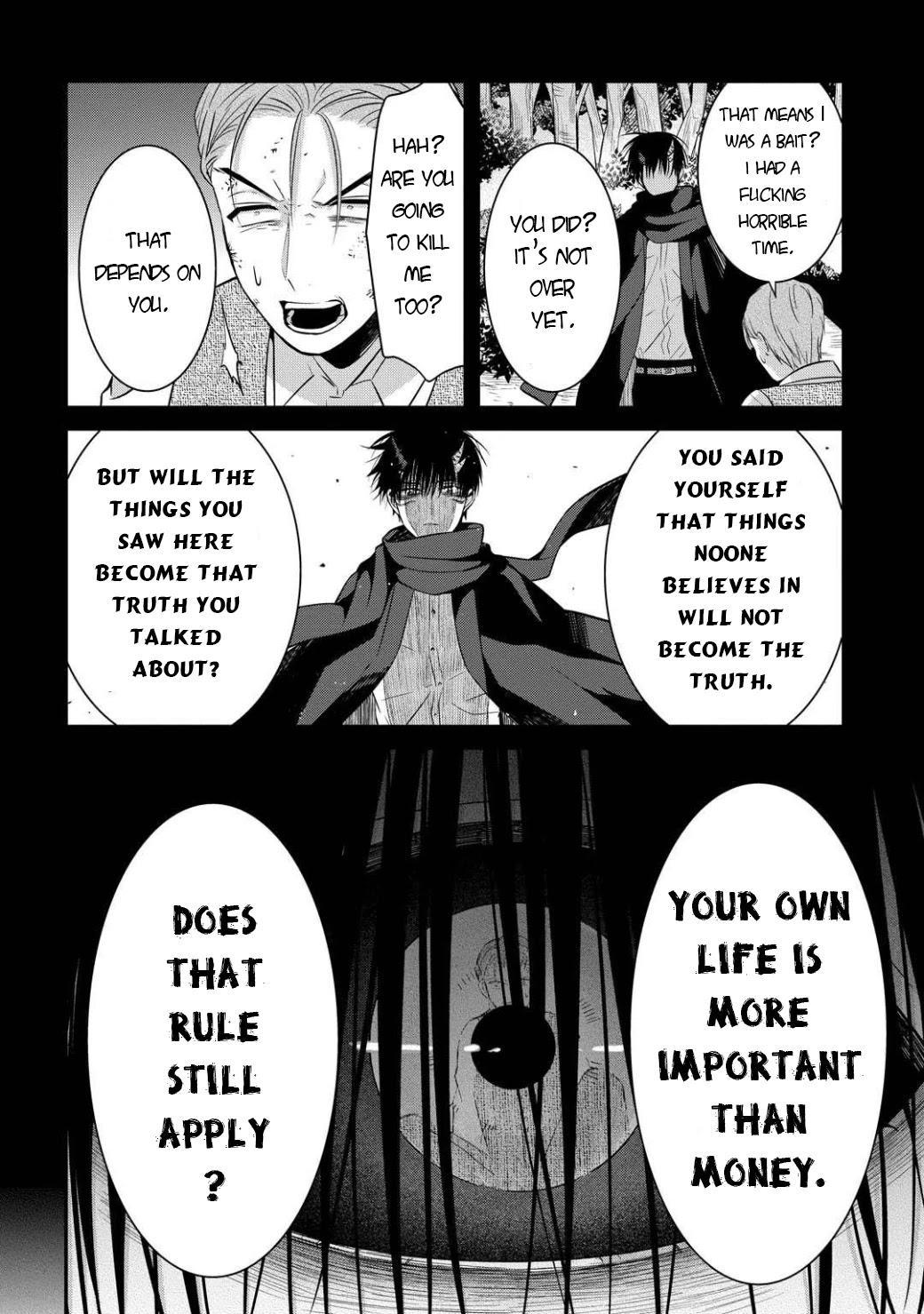 Mononobe Koshoten Kaikitan Chapter 5: Choice Of People page 37 - Mangakakalots.com