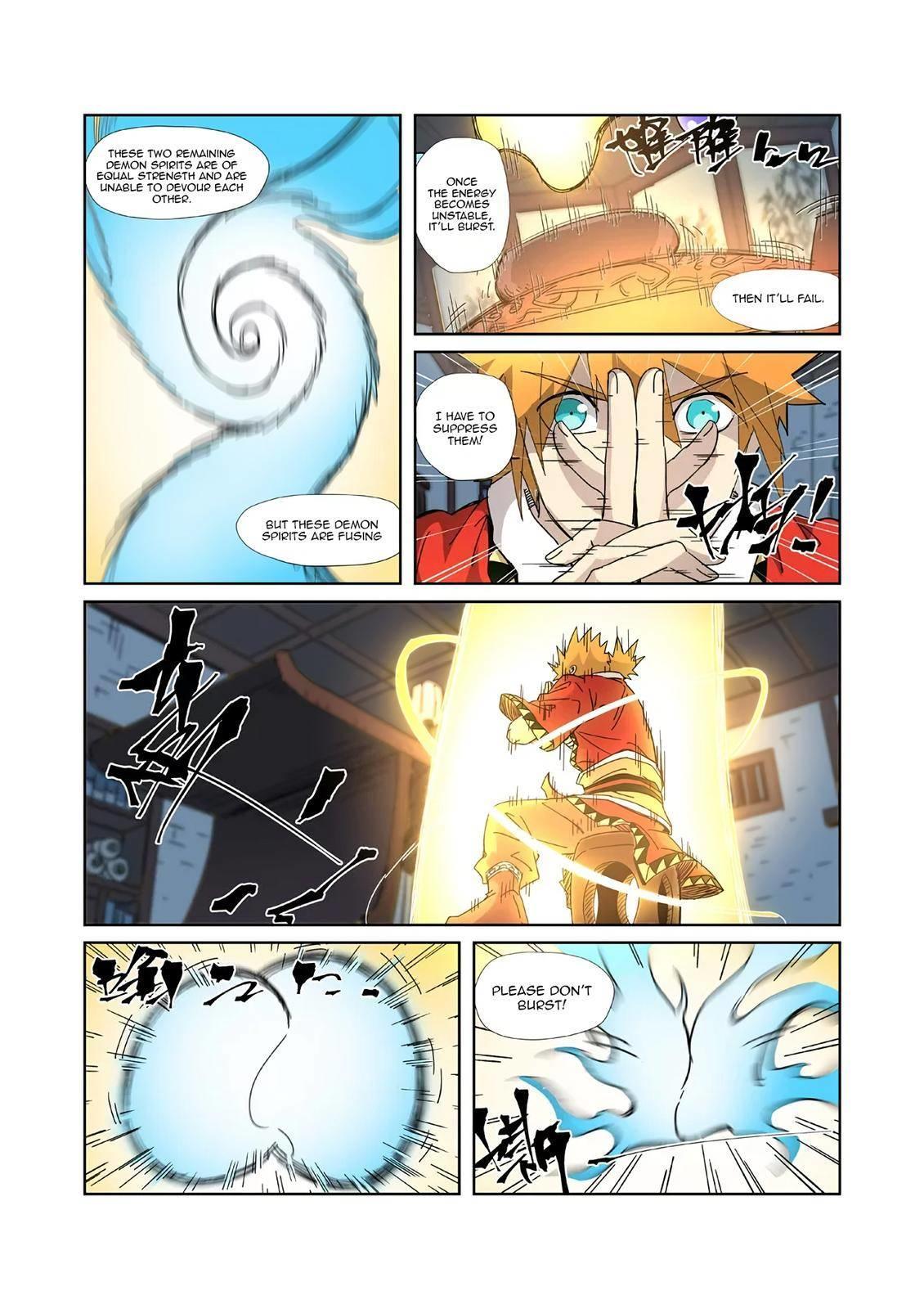 Tales Of Demons And Gods Chapter 332.5 page 8 - Mangakakalots.com
