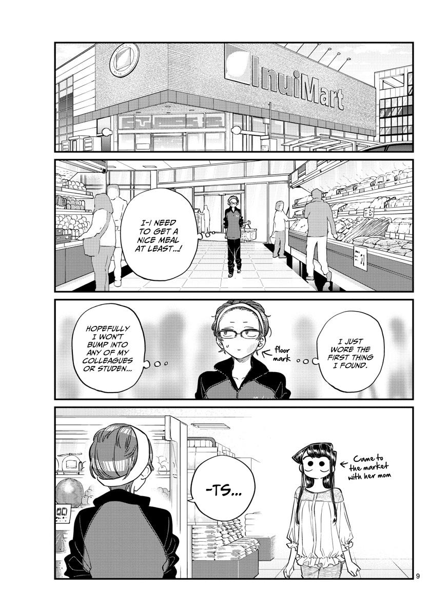 Komi-San Wa Komyushou Desu Vol.12 Chapter 158: Sensei page 9 - Mangakakalot