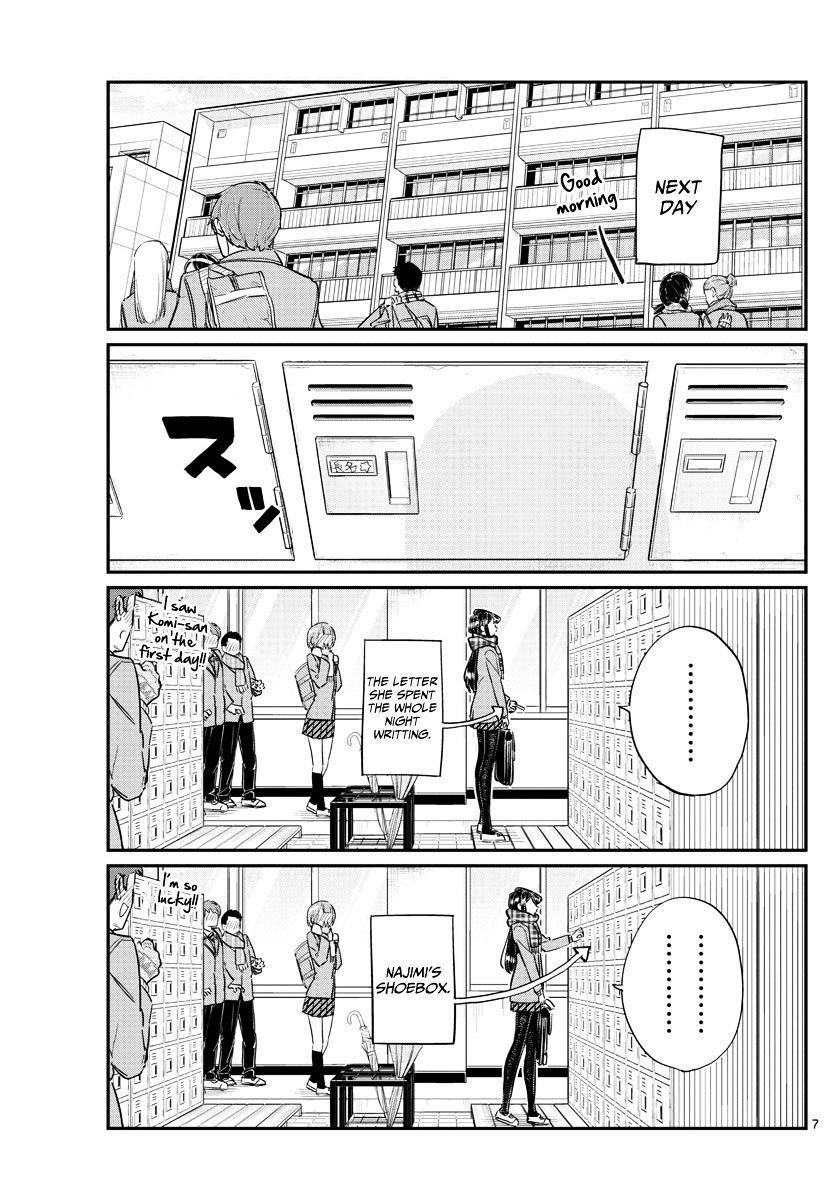 Komi-San Wa Komyushou Desu Vol.8 Chapter 100: A Misunderstanding page 7 - Mangakakalot