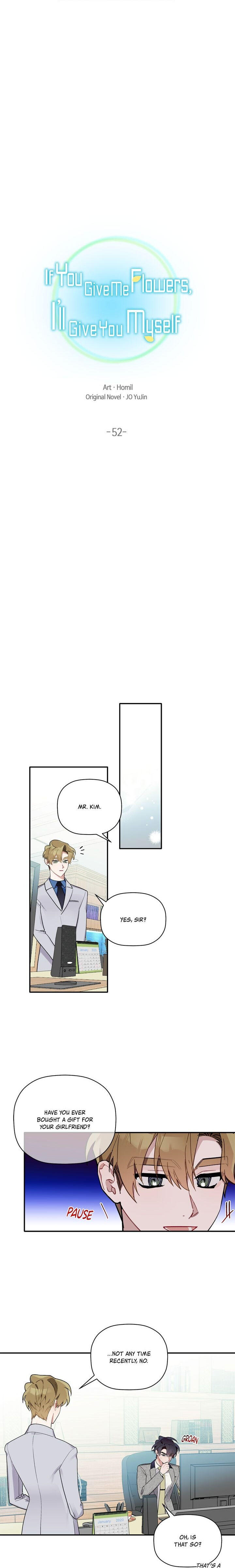 Give Me A Flower, And I'Ll Give You All Of Me Chapter 52 page 3 - Mangakakalots.com