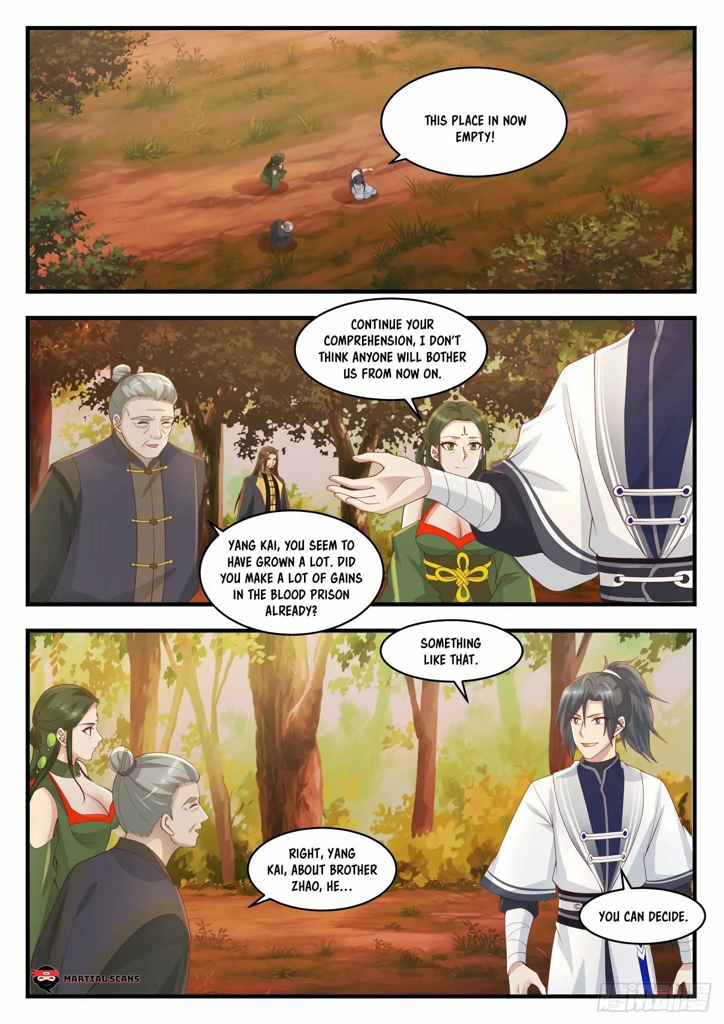 Martial Peak Chapter 1386: Kill Him page 9 - Mangakakalots.com