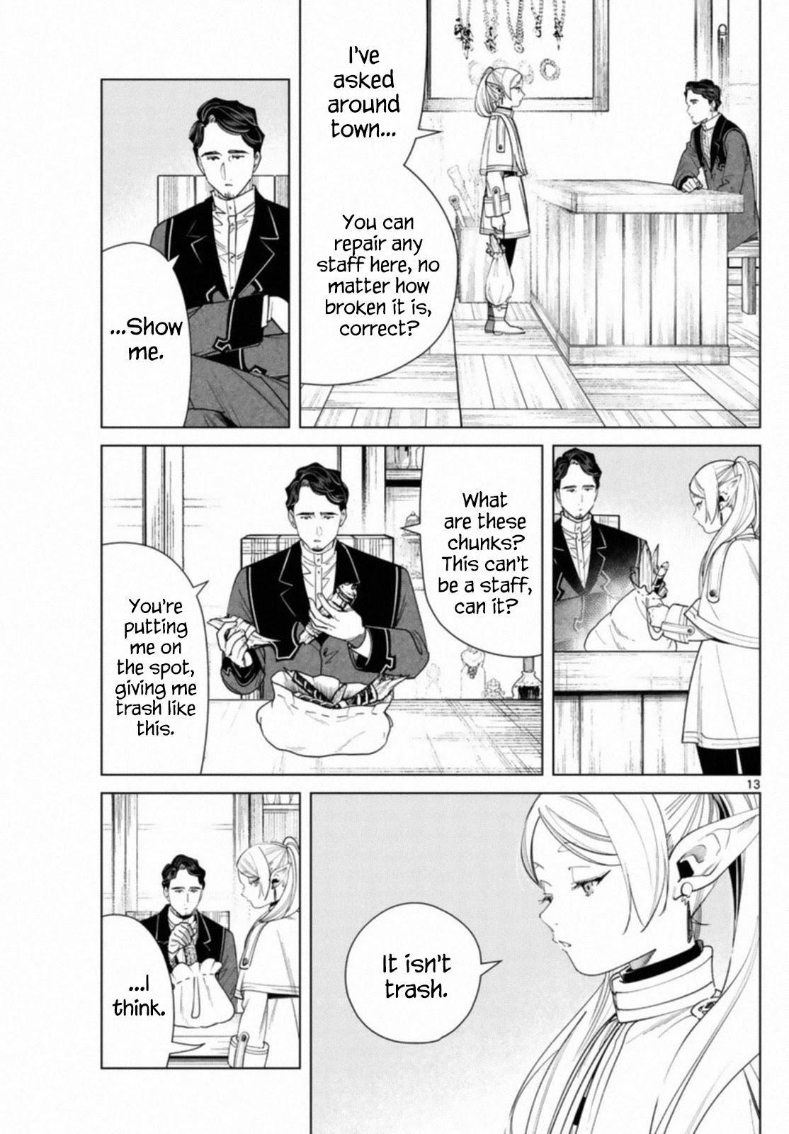 Sousou No Frieren Chapter 56 page 13 - Mangakakalots.com