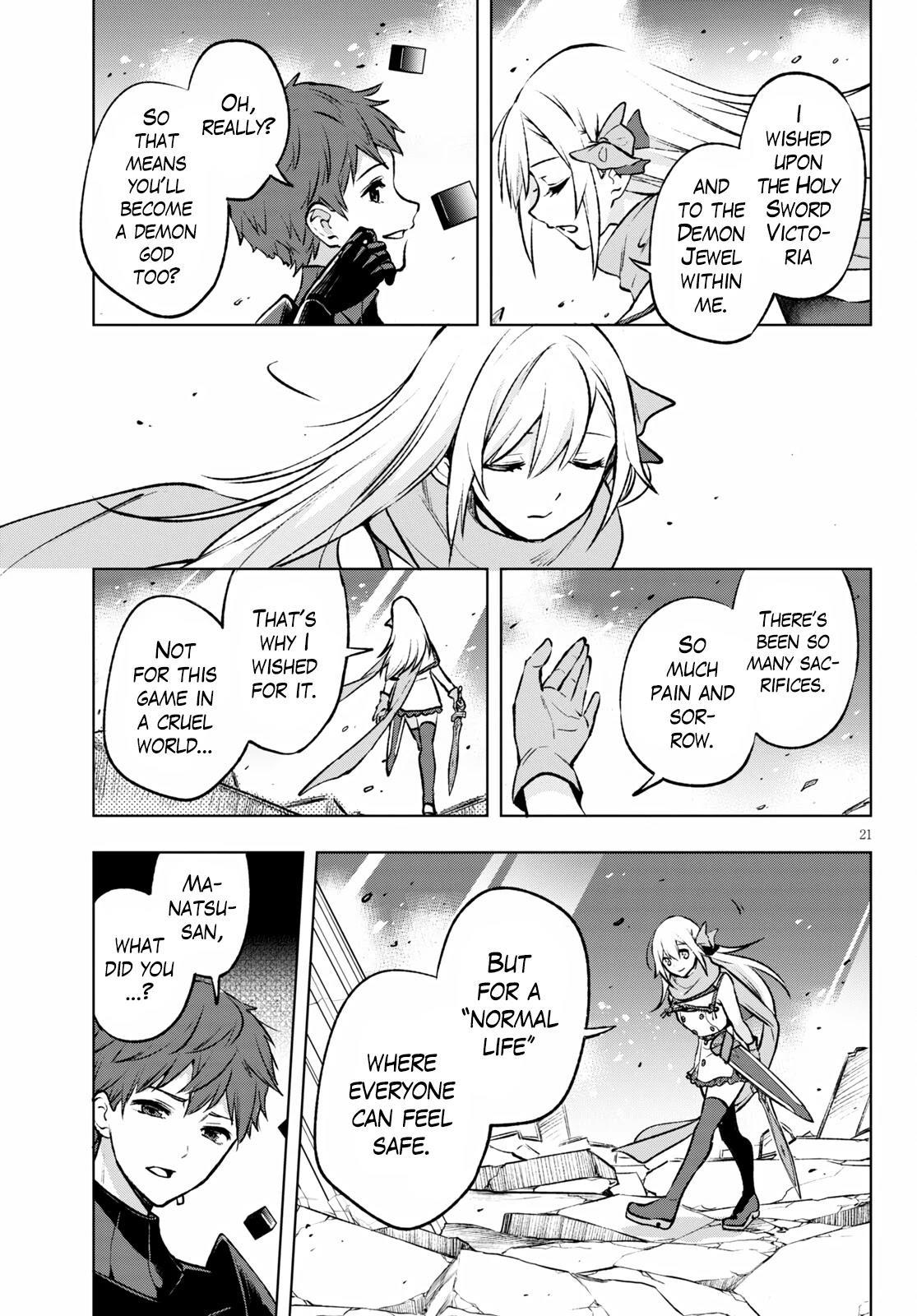 Samayoeru Tensei-Sha-Tachi No Revival Game Chapter 24: Manatsu, Messenger Of The Holy God page 19 - Mangakakalots.com