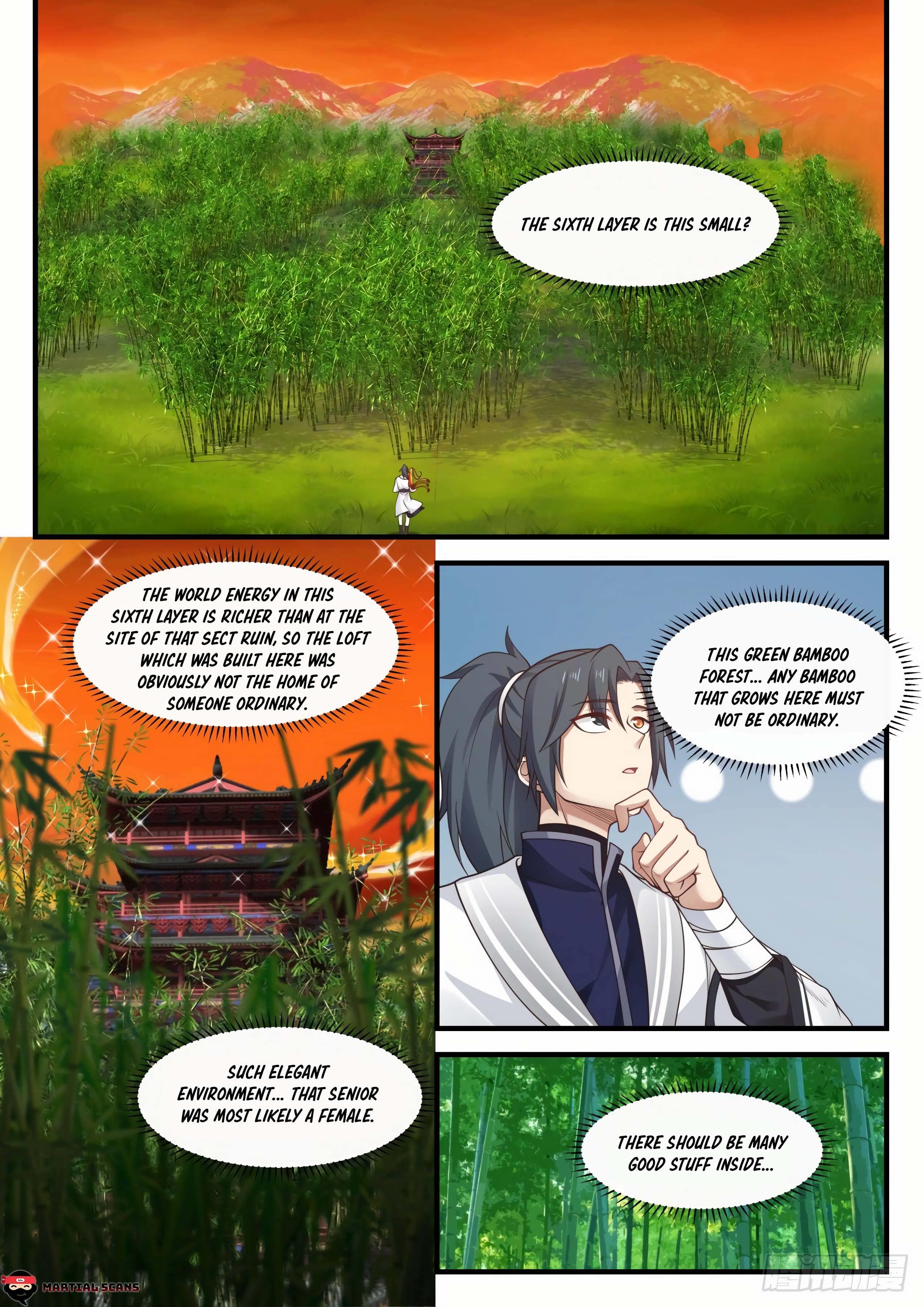 Martial Peak Chapter 1149 page 10 - Mangakakalots.com