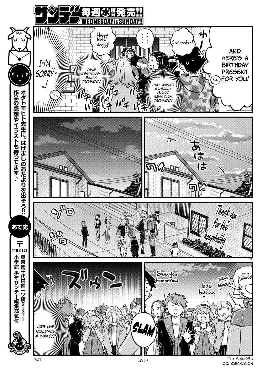 Komi-San Wa Komyushou Desu Vol.7 Chapter 88: Another Picking Of Presents page 17 - Mangakakalot