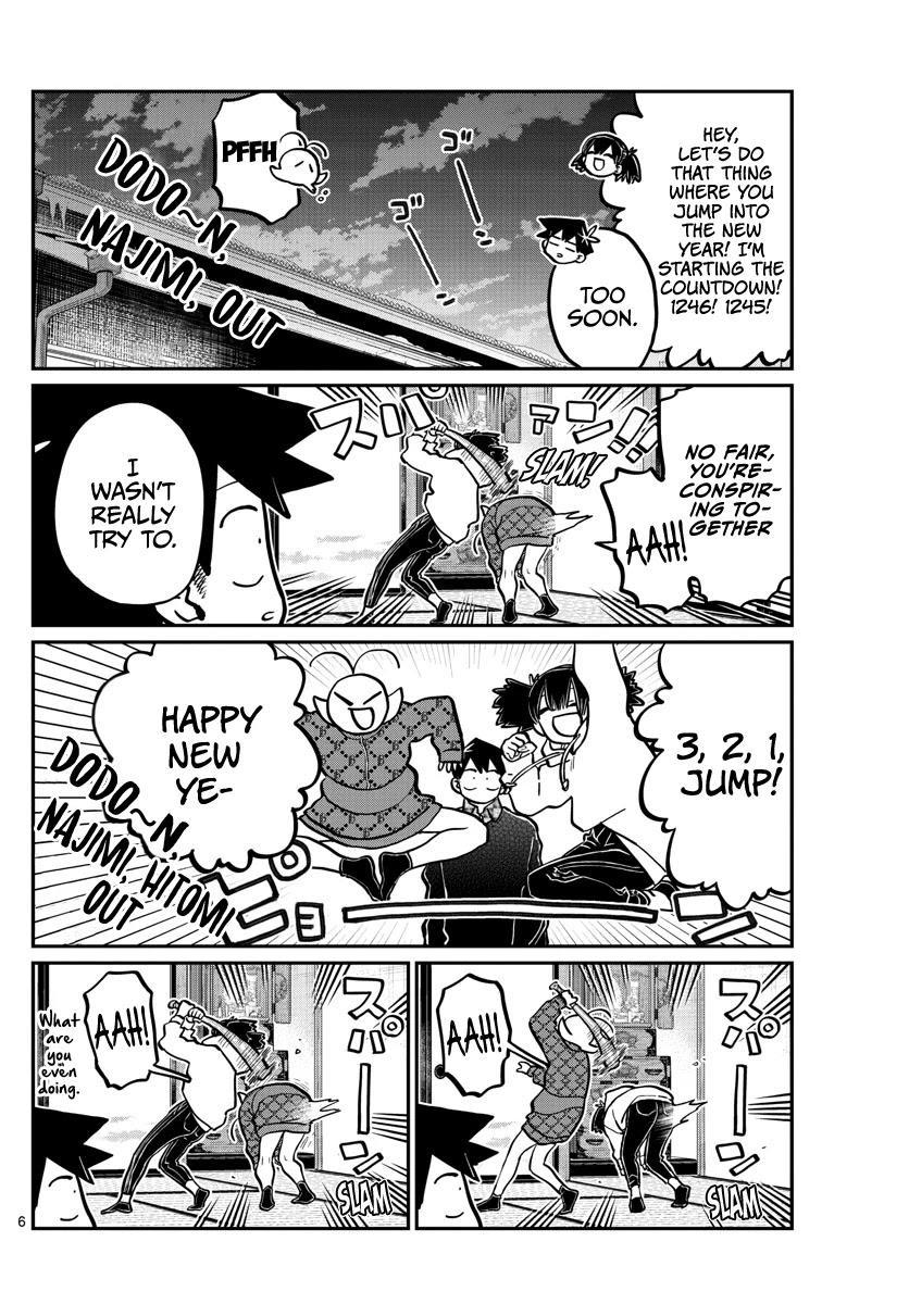 Komi-San Wa Komyushou Desu Chapter 274: End Of The Year You Can't Laugh At. page 6 - Mangakakalot