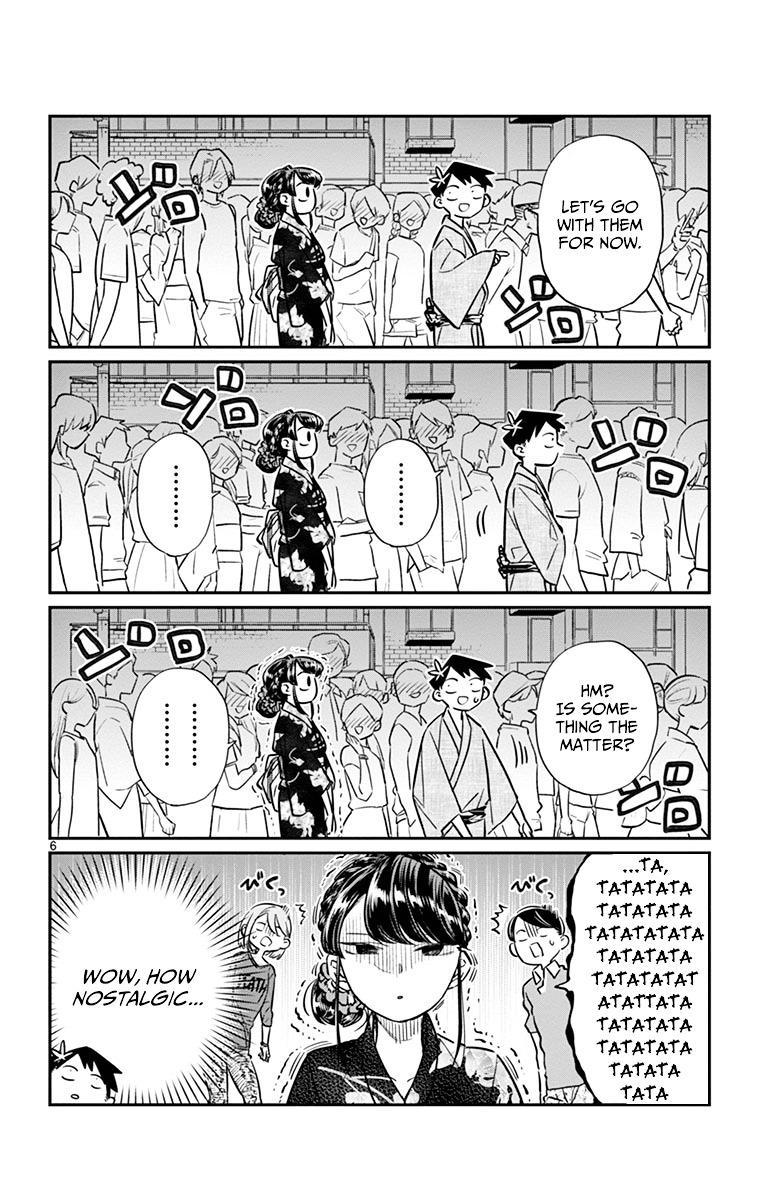 Komi-San Wa Komyushou Desu Vol.3 Chapter 46: Summer Festival page 6 - Mangakakalot