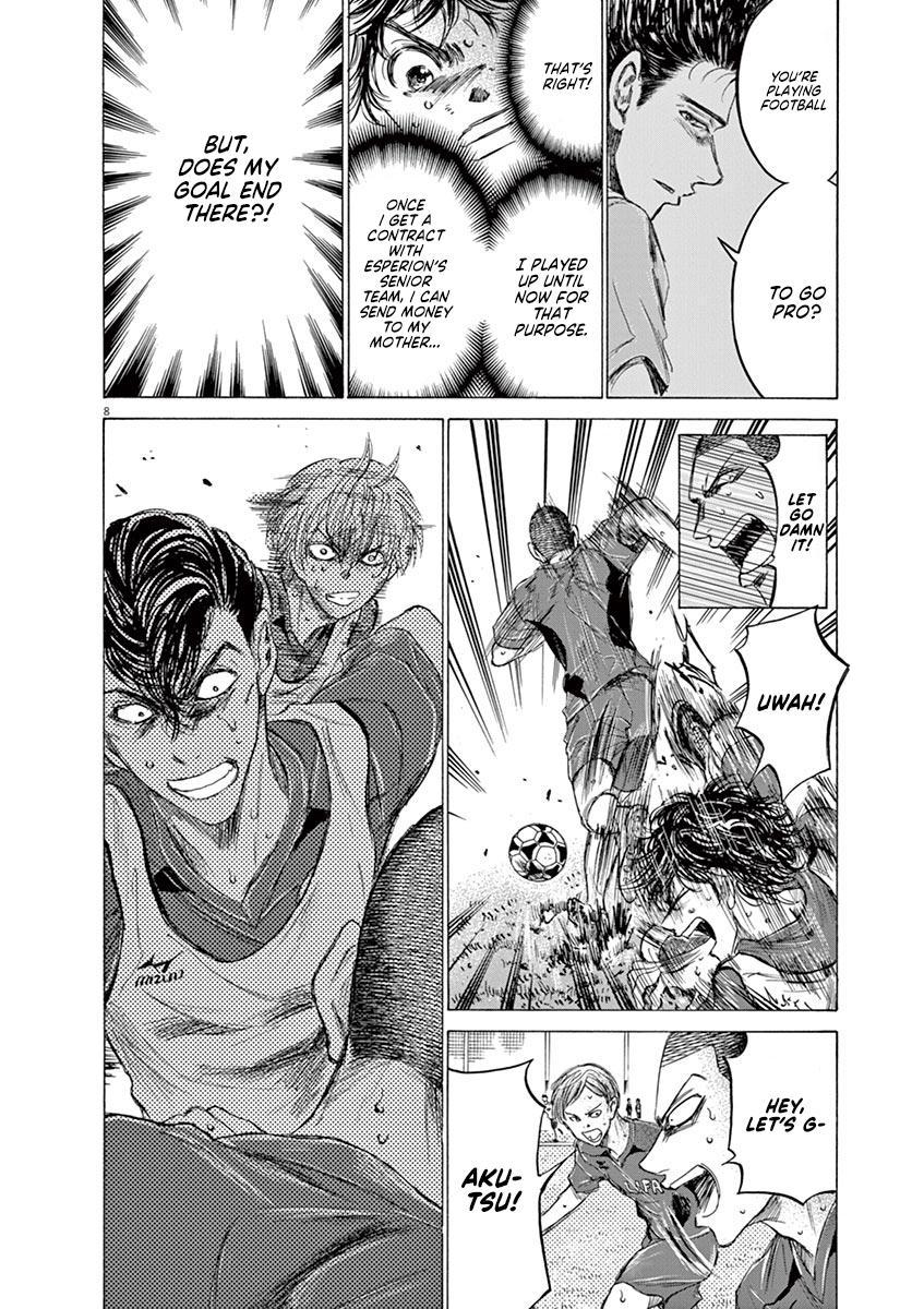 Ao Ashi Vol.14 Chapter 147: Big Three page 9 - Mangakakalots.com
