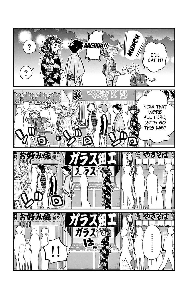 Komi-San Wa Komyushou Desu Vol.3 Chapter 47: Summer Festival 2 page 14 - Mangakakalot