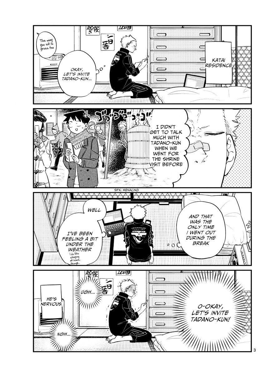 Komi-San Wa Komyushou Desu Vol.7 Chapter 95: Ice Skating page 3 - Mangakakalot