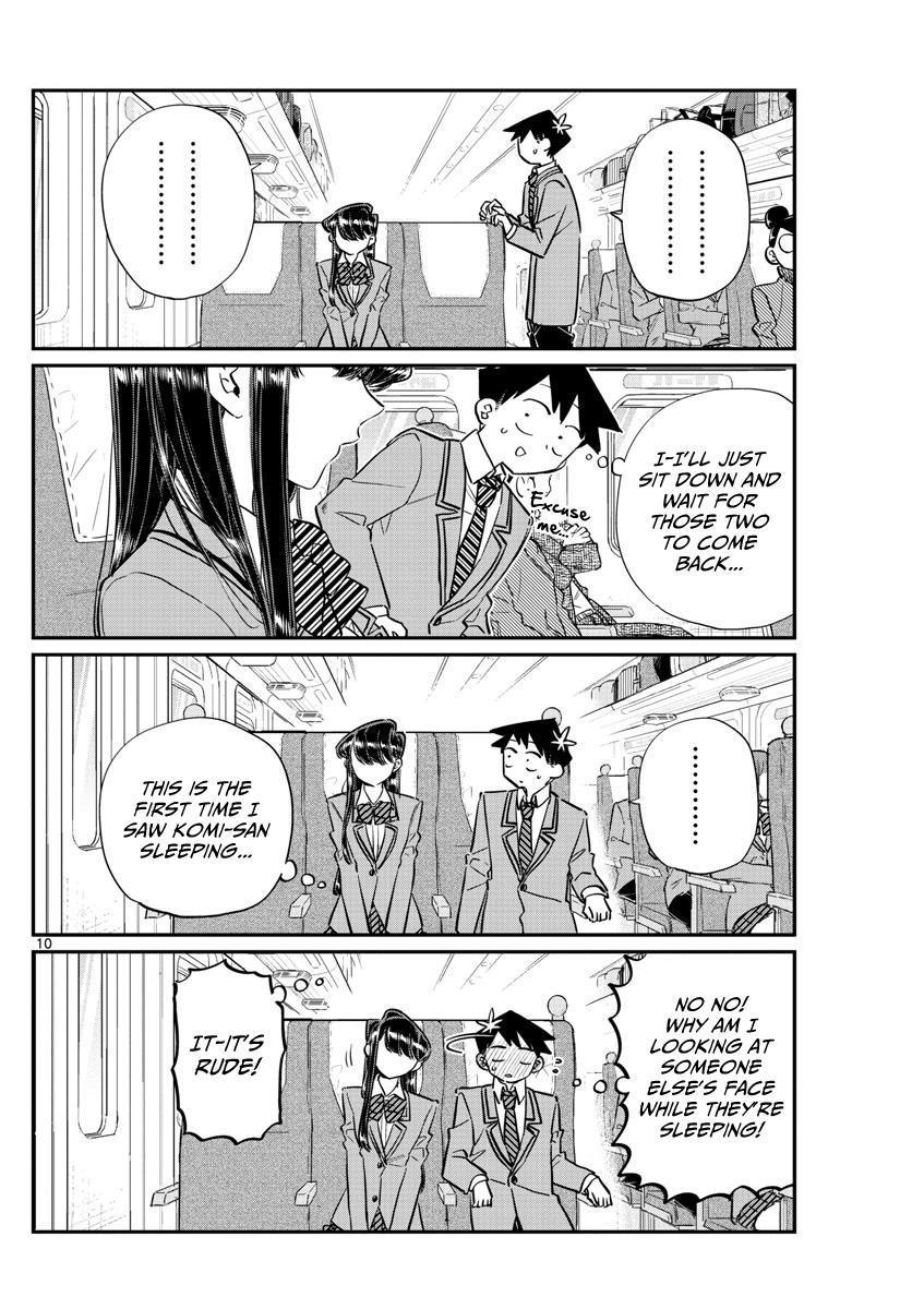 Komi-San Wa Komyushou Desu Vol.8 Chapter 113: The Train Ride Home page 10 - Mangakakalot