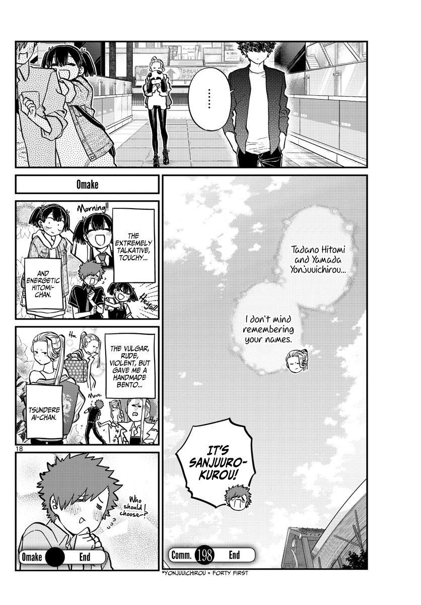 Komi-San Wa Komyushou Desu Chapter 198: Out & Law ~The Movie~ page 21 - Mangakakalot