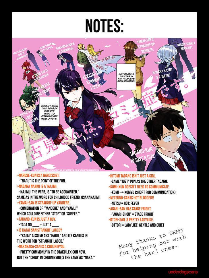Komi-San Wa Komyushou Desu Vol.1 Chapter 3: Spectre page 5 - Mangakakalot