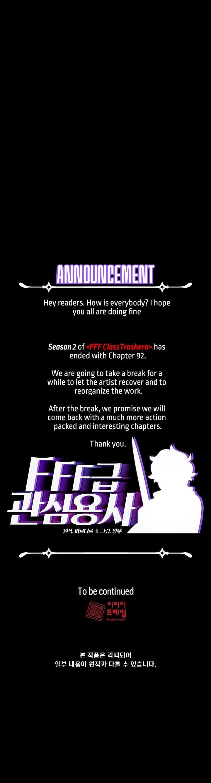 Fff-Class Trashero Chapter 92 page 42 - Mangakakalots.com