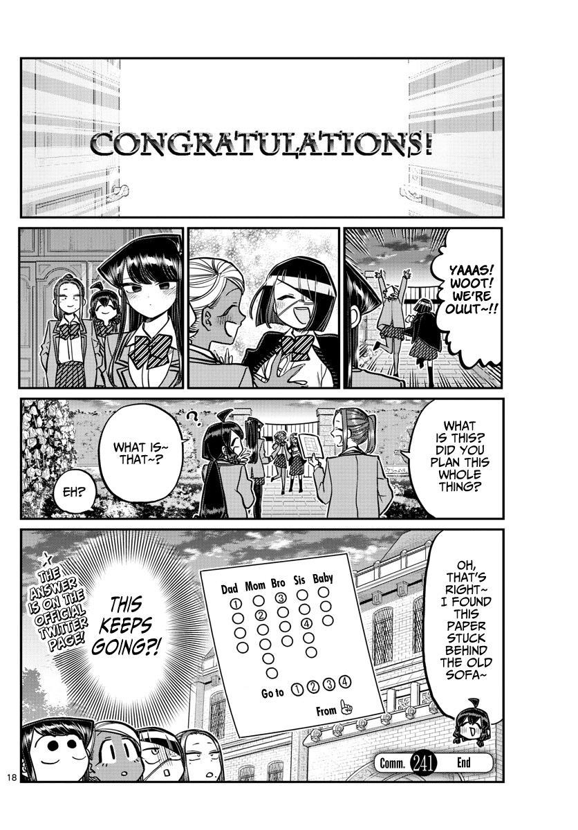 Komi-San Wa Komyushou Desu Chapter 241: Escape page 21 - Mangakakalot