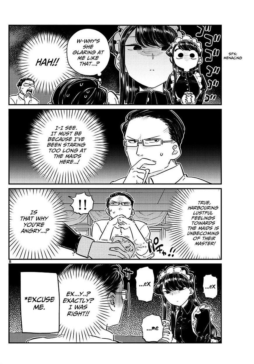 Komi-San Wa Komyushou Desu Vol.5 Chapter 67: Maids page 8 - Mangakakalot