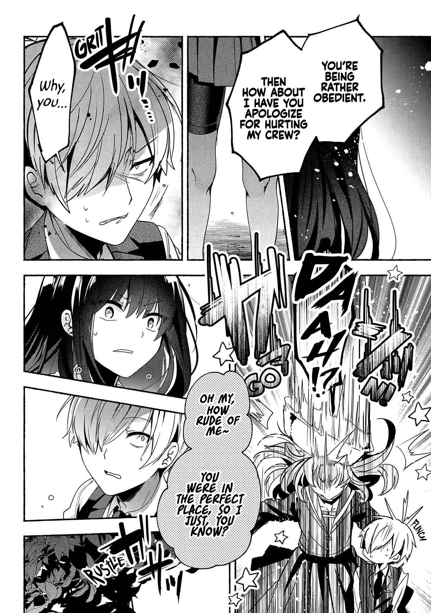 Pashiri Na Boku To Koi Suru Banchou-San Chapter 59 page 11 - Mangakakalots.com