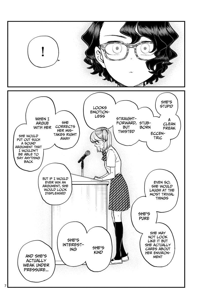 Komi-San Wa Komyushou Desu Chapter 203: Election Manager 2 page 7 - Mangakakalot