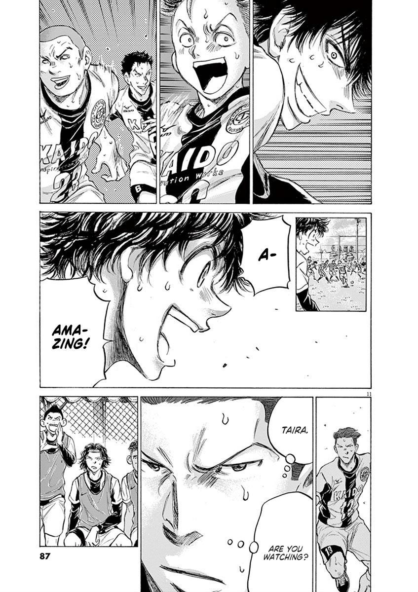 Ao Ashi Vol.18 Chapter 184: Takasugi And Resolute Solidarity page 11 - Mangakakalots.com
