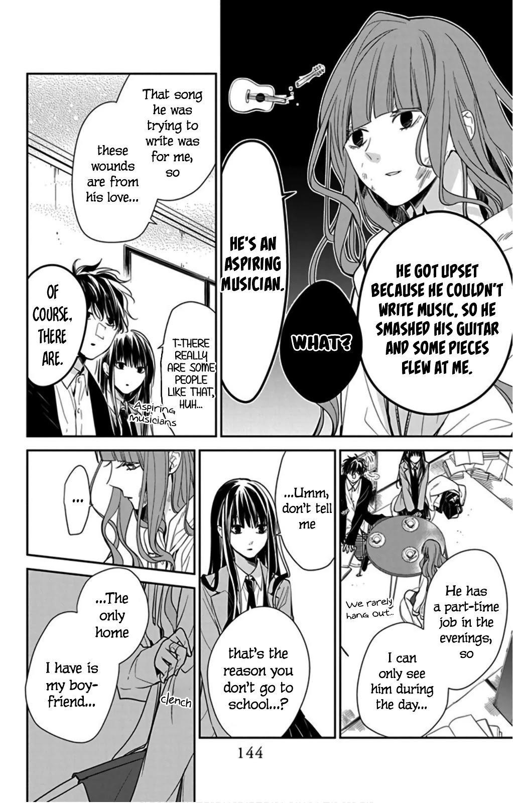 Tsuiraku Jk To Haijin Kyoushi Chapter 38 page 10 - Mangakakalots.com