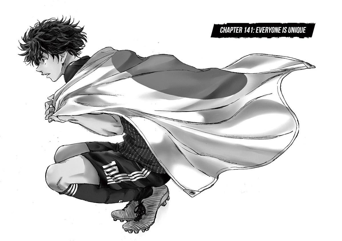 Ao Ashi Vol.14 Chapter 141: Everyone Is Unique page 3 - Mangakakalots.com