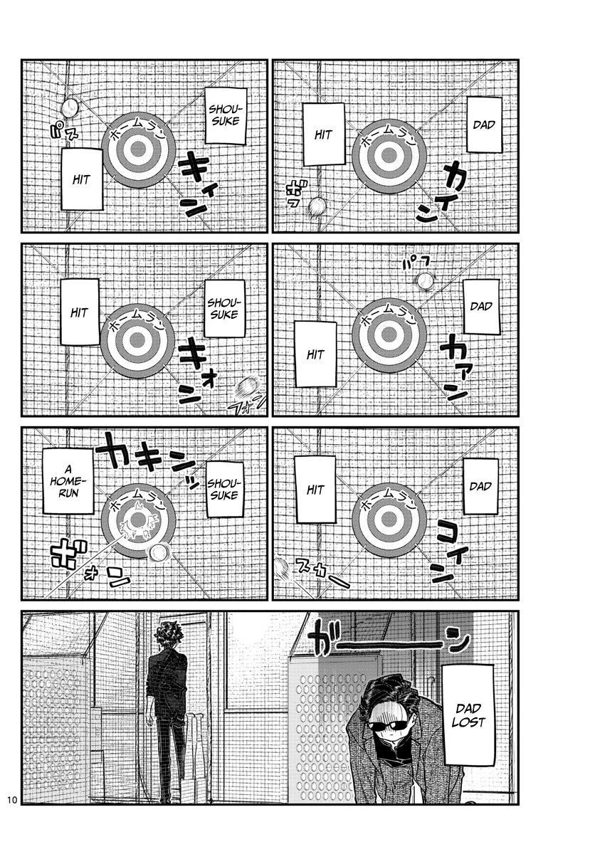 Komi-San Wa Komyushou Desu Chapter 215: A Day Of A Father And Son page 10 - Mangakakalot