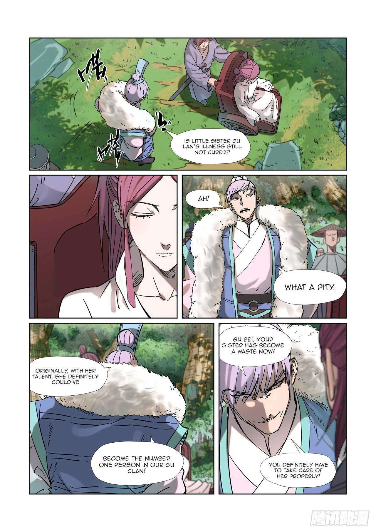 Tales Of Demons And Gods Chapter 315.1 page 2 - Mangakakalots.com