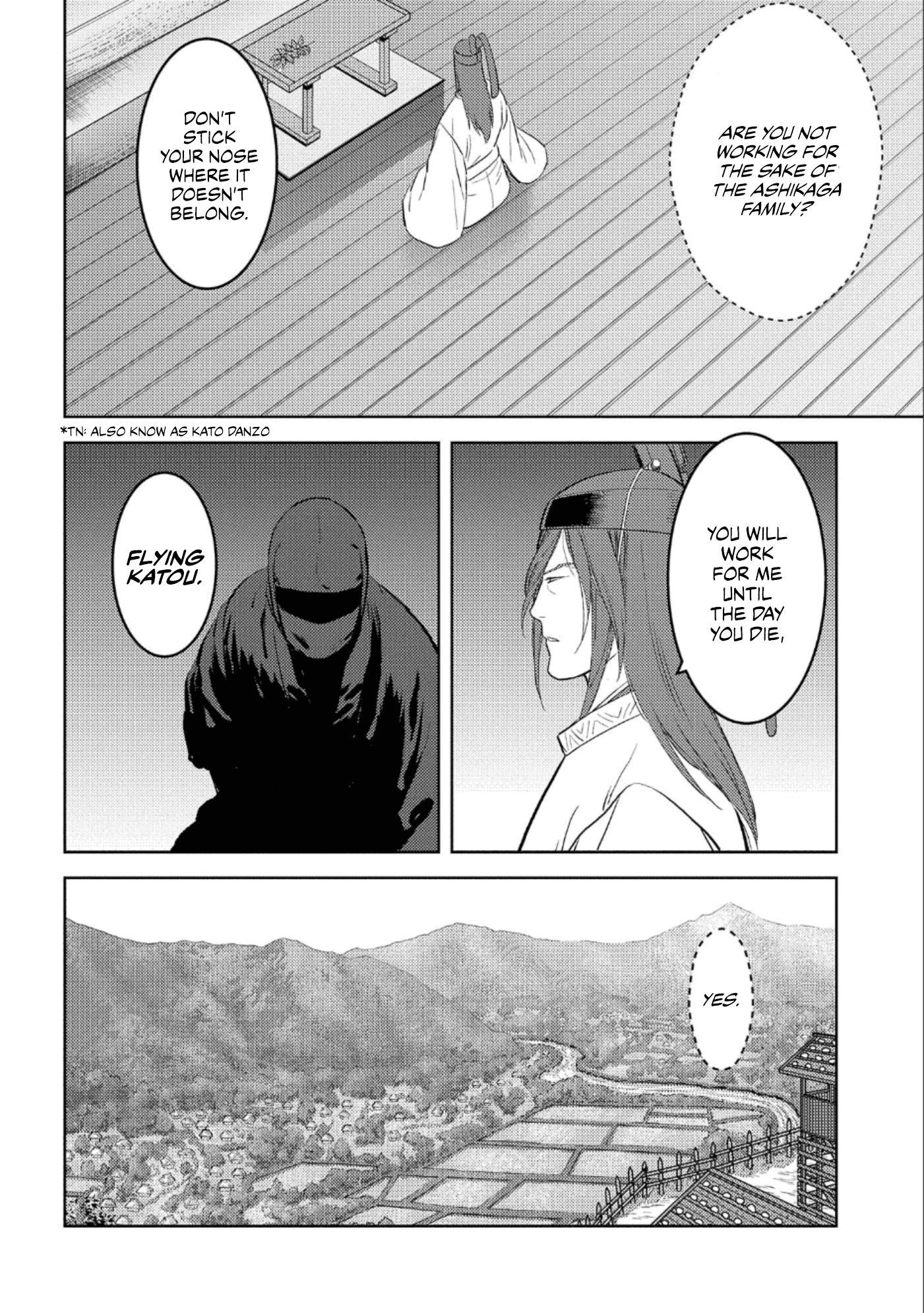 Sengoku Komachi Kurou Tan! Chapter 41 page 19 - Mangakakalots.com