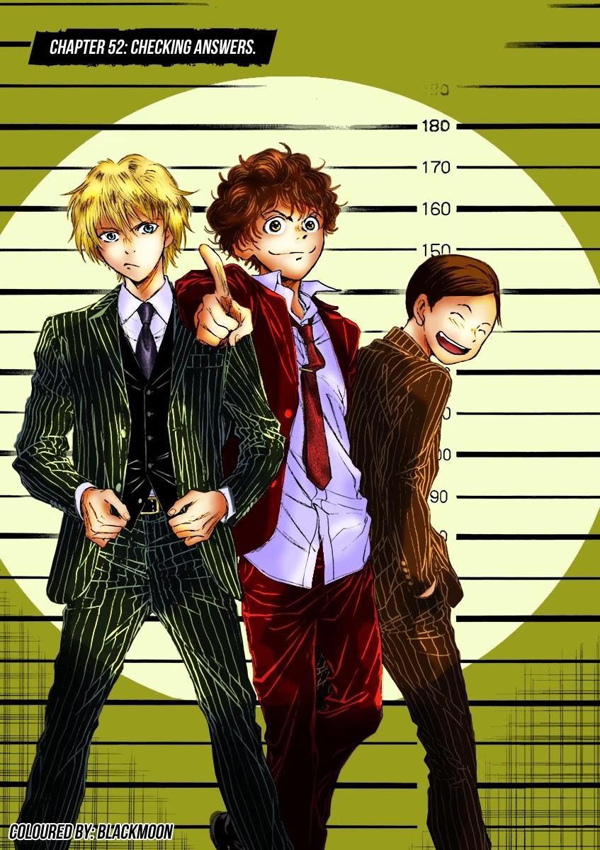 Ao Ashi Chapter 52: Checking Answers page 4 - Mangakakalots.com
