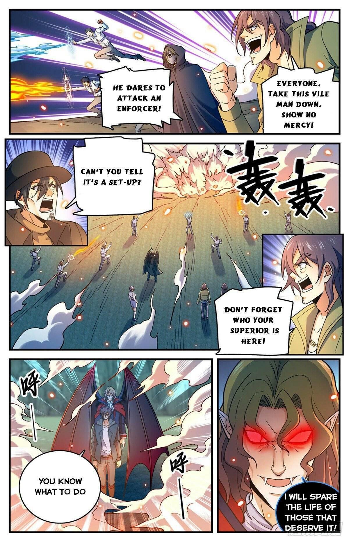 Versatile Mage Chapter 766 page 10 - Mangakakalots.com