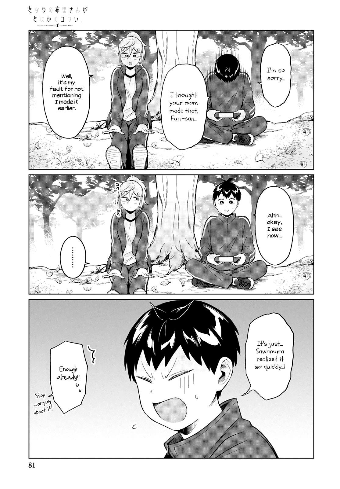 Tonari No Furi-San Ga Tonikaku Kowai Chapter 23 page 9 - Mangakakalots.com