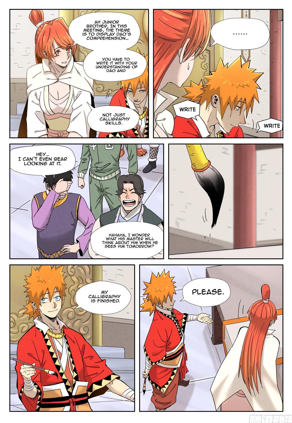 Tales Of Demons And Gods Chapter 341.1 page 9 - Mangakakalot