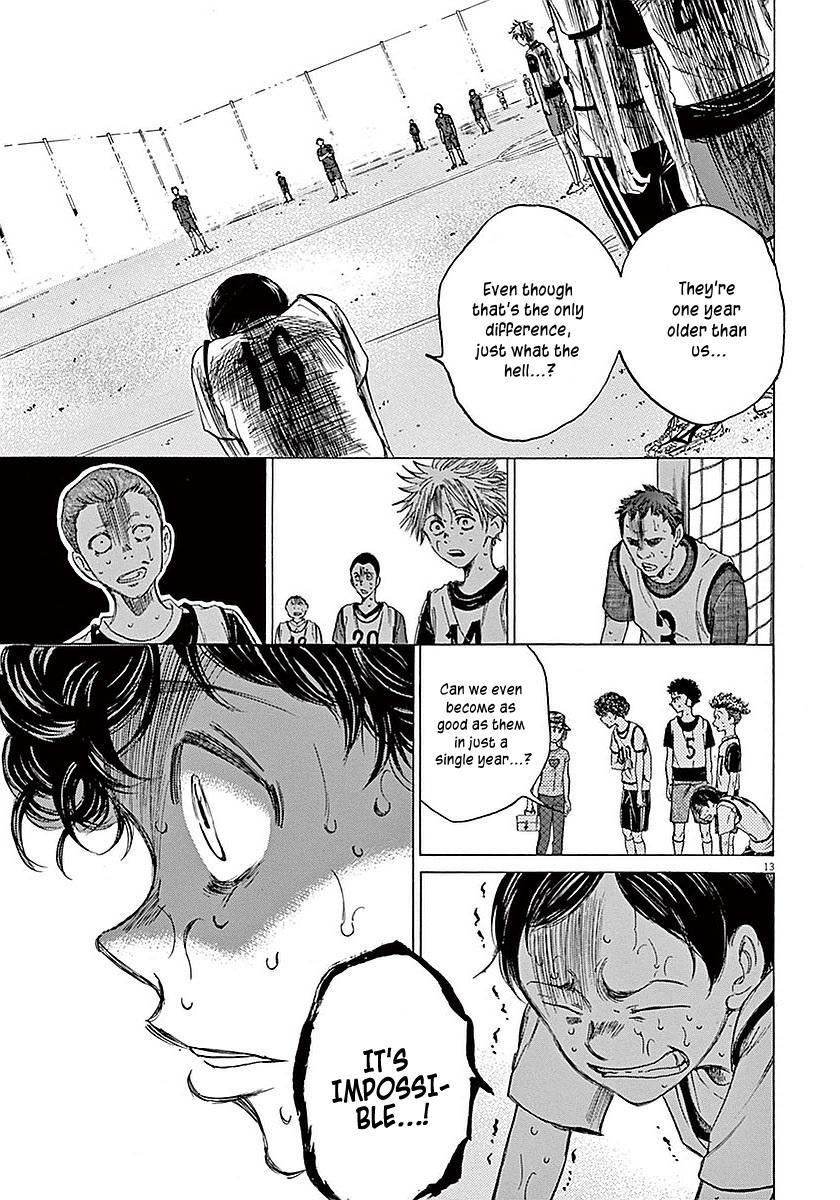 Ao Ashi Vol.2 Chapter 13: Telling The Exam-Takers page 13 - Mangakakalots.com