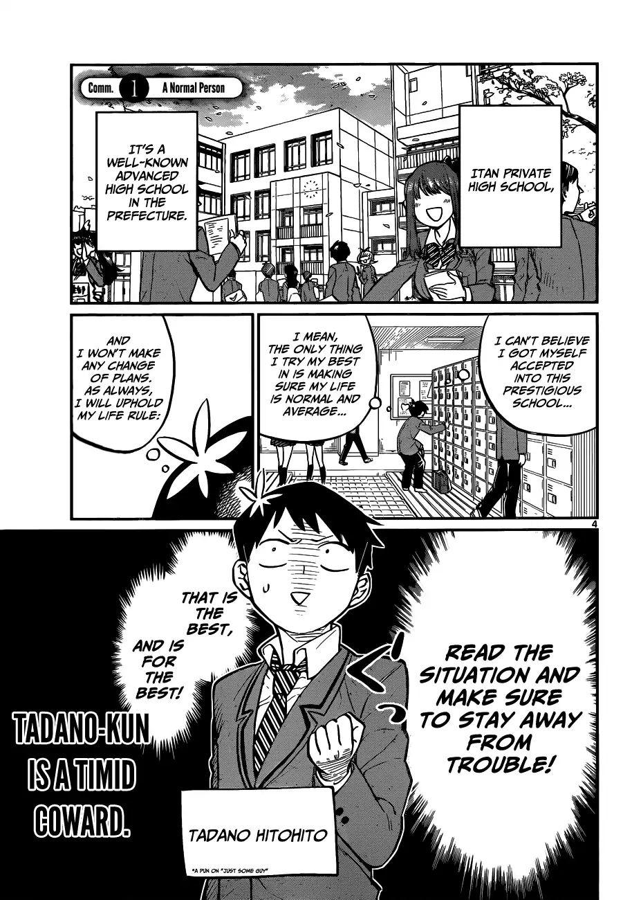 Komi-San Wa Komyushou Desu Vol.1 Chapter 1: A Normal Person page 8 - Mangakakalot