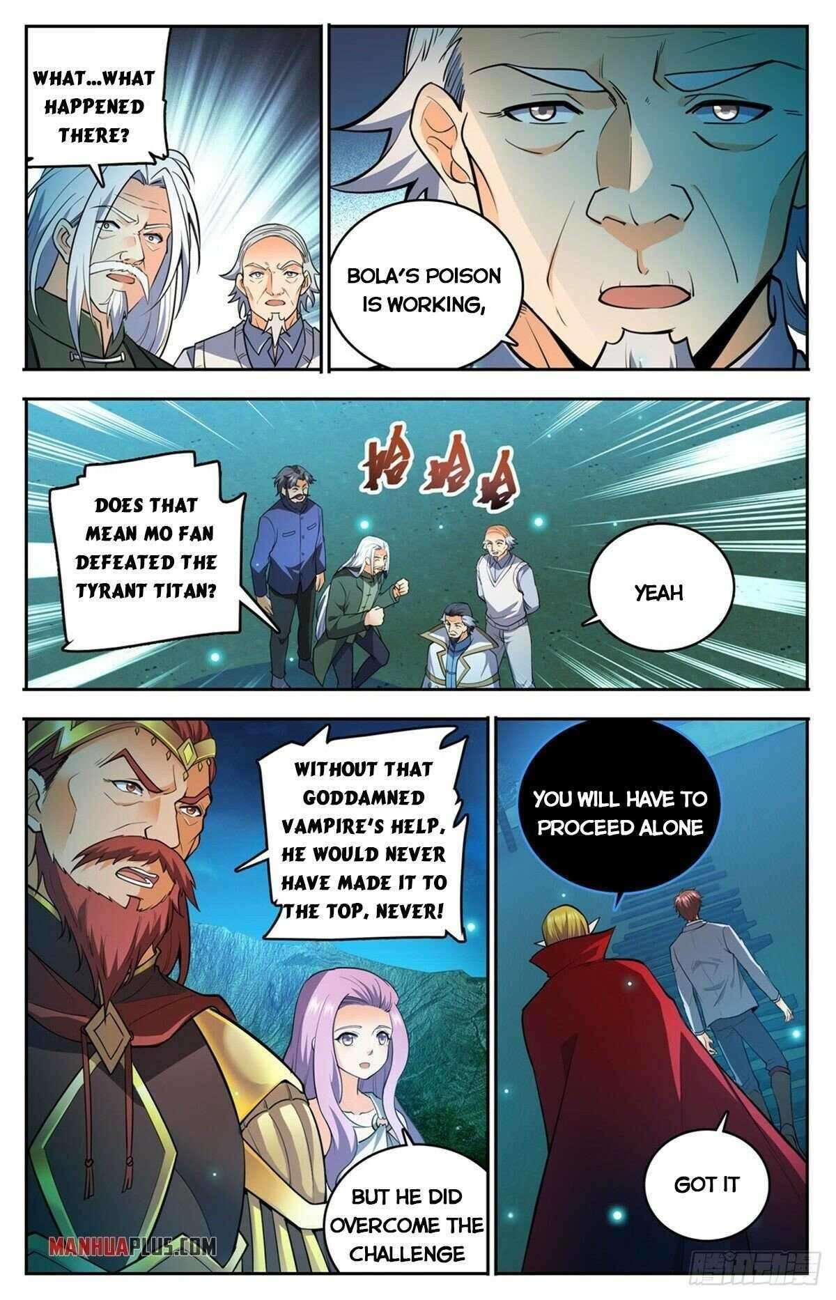 Versatile Mage Chapter 752 page 5 - Mangakakalots.com