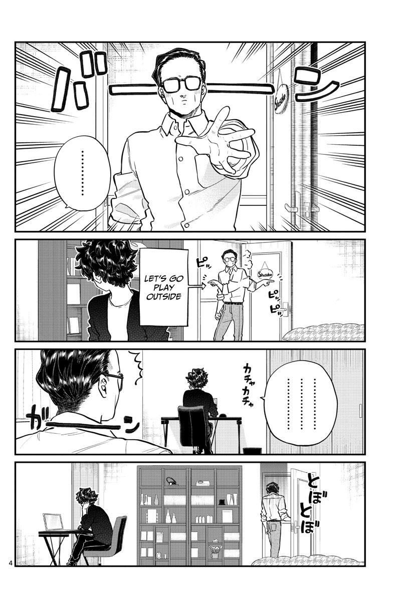 Komi-San Wa Komyushou Desu Chapter 215: A Day Of A Father And Son page 4 - Mangakakalot
