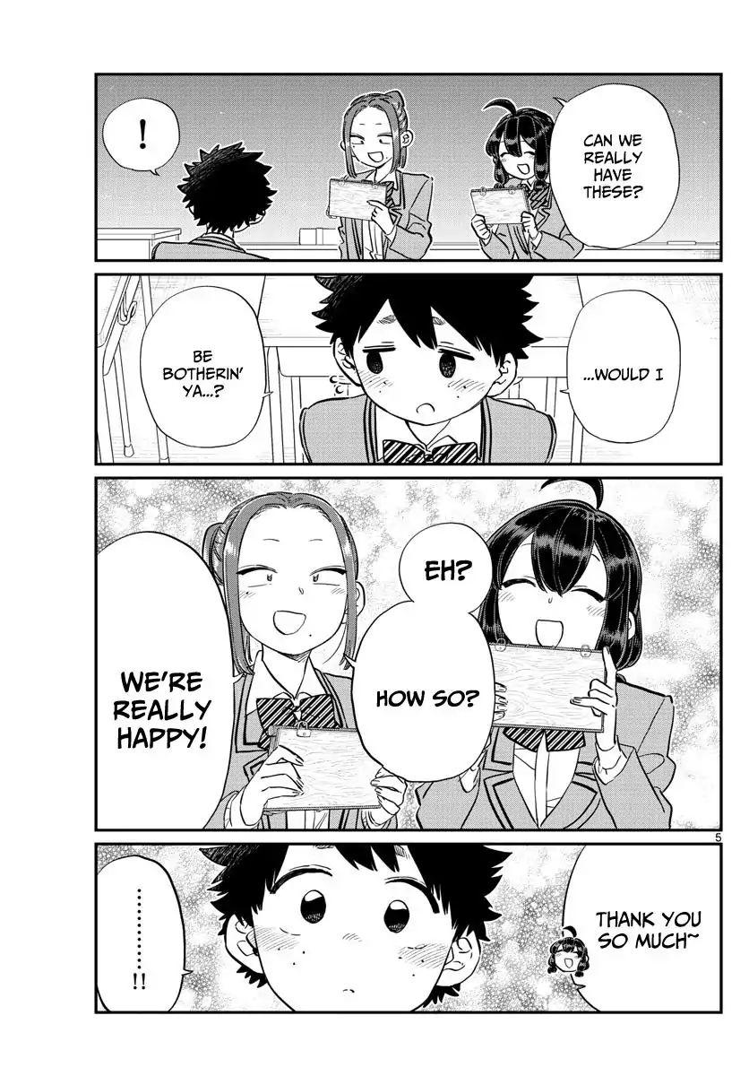 Komi-San Wa Komyushou Desu Vol.9 Chapter 114: Everyone's Commnunication page 5 - Mangakakalot