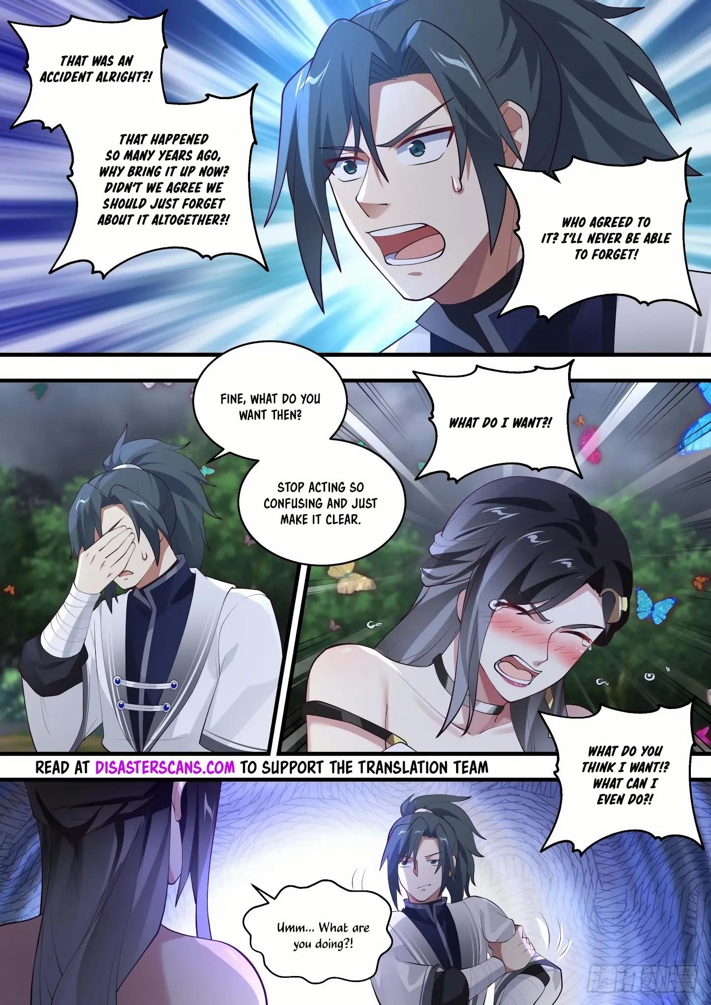 Martial Peak Chapter 1458: You Know How To Feel Shy? page 9 - Mangakakalots.com