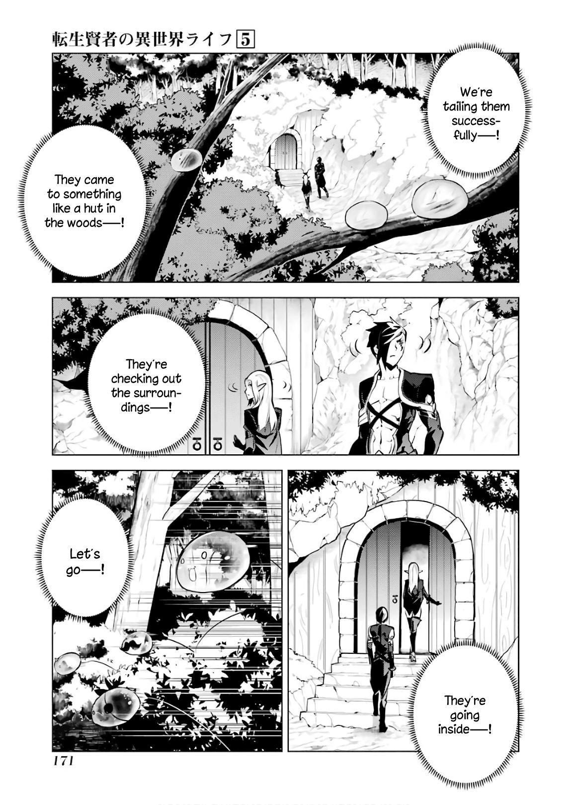 Tensei Kenja No Isekai Raifu ~Daini No Shokugyo Wo Ete, Sekai Saikyou Ni Narimashita~ Vol.5 Chapter 15: I Was Being Pursued page 46 - Mangakakalots.com
